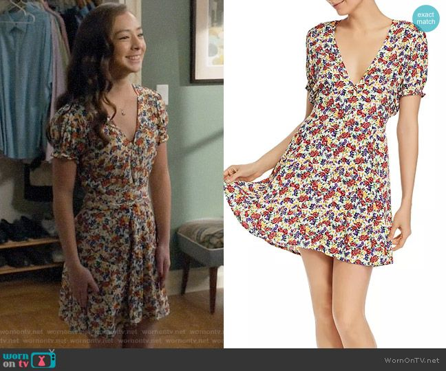 Lily S Floral Date Dress On Modern Family In 2020 Womens Floral Dress Dresses Date Dresses