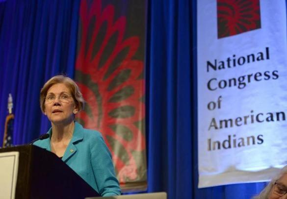 ICYMI: Read the text of Elizabeth Warren's speech to Native American group - The Boston Globe