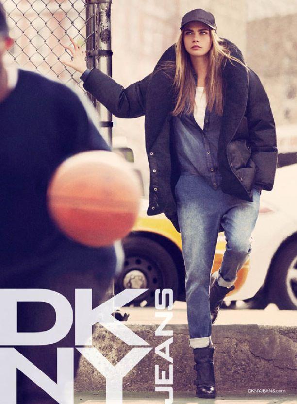 DKNY FW FALL WINTER 2013 AD CAMPAIGN