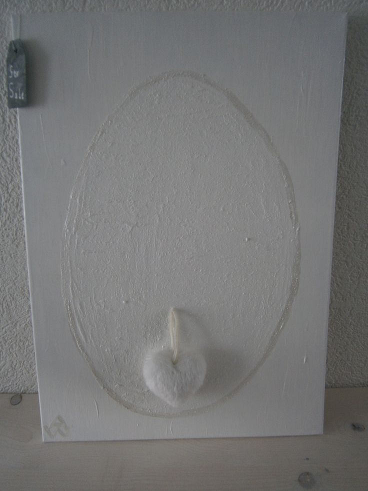 White Painting...Home made....
