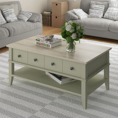 In need of a coffee table to go with new couches. I'm horrible @ interior decorating!