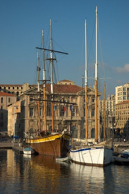 Old town #Marseille, France