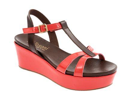 Tosoni at #Spitz - T-Bar Flatform Sandal - Women's Shoes #SS14
