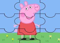 JuegosdePeppa.com - Juego: Rompecabezas Peppa Pig Feliz Puzzles de Dibujos Online Juegos Peppa Gratis Online