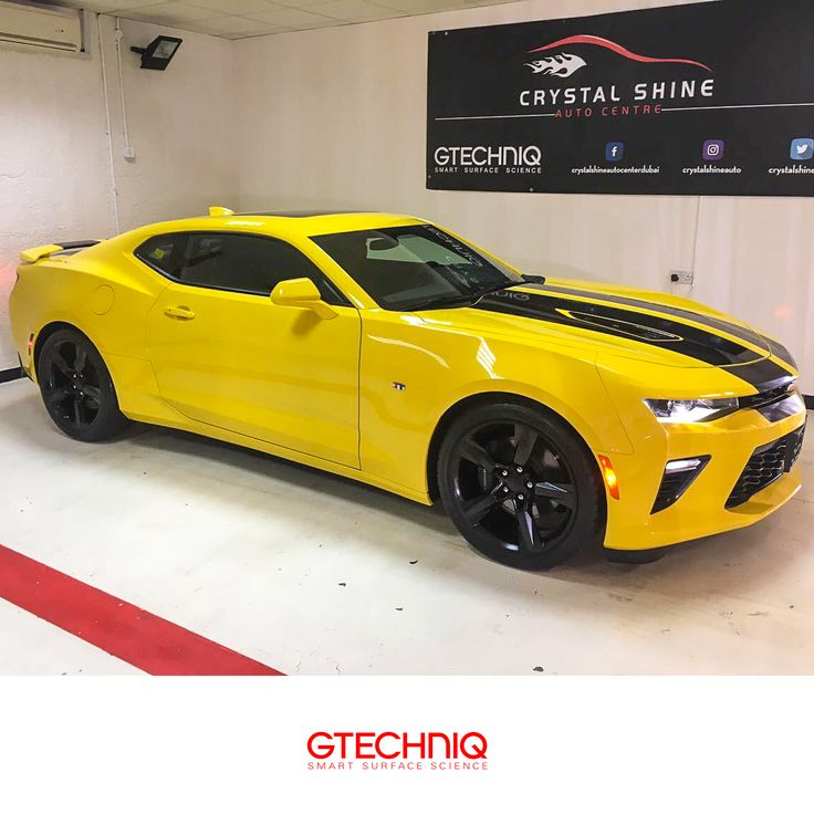 #Chevrolet Camaro Protected By Gtechniq And Our Stockist Crystal Shine Auto  Center 🌐 PROTECT THE