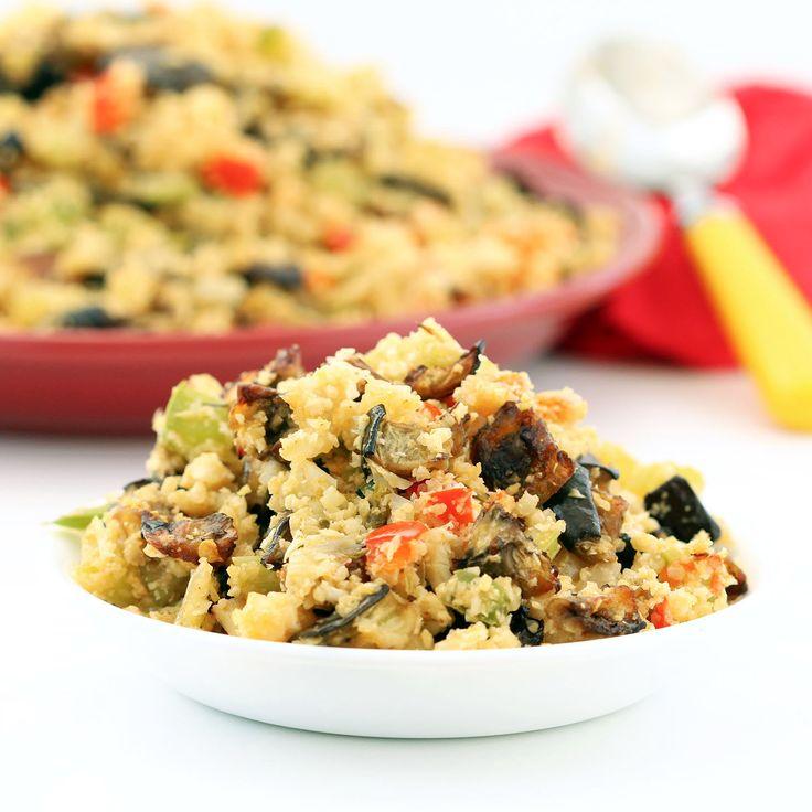 "Recipe: Eggplant Cauliflower Dirty ""Rice"" (Gluten-Free, Vegan / Plant-based, Low-carb)"