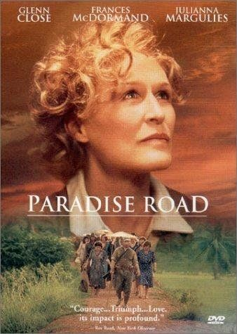 Paradise Road (1997) Fact-based recounting of a group of women who are imprisoned on the island of Sumatra by the Japanese during World War II and used music as a relief to their misery-IMDB http://www.imdb.com/title/tt0119859/?ref_=nv_sr_1