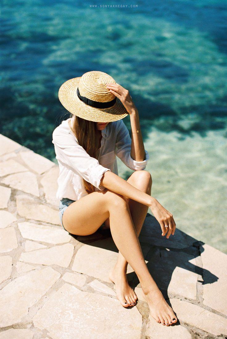 #summer memories :) http://sonyakhegay.com/summer-memories/ #hat #straw