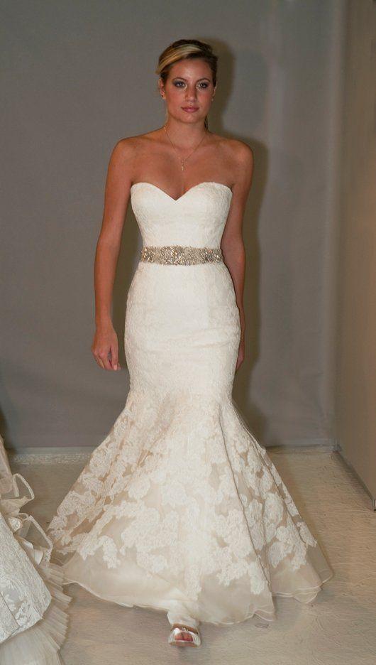Lis simon romantic romantic dresses and winter wedding for Winter mermaid wedding dresses