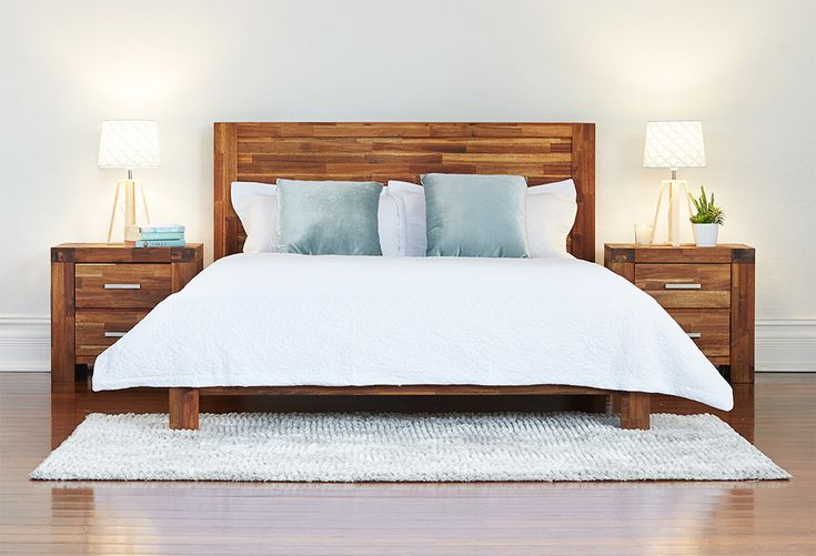 Help chase the tail end of winter away by creating a simple, warm atmosphere in your bedroom with timber furniture in warm tones and simple, textural linens and accessories. The Phillipe's warm timber tones are also perfect for a fresh spring/summer look when the weather warms up.