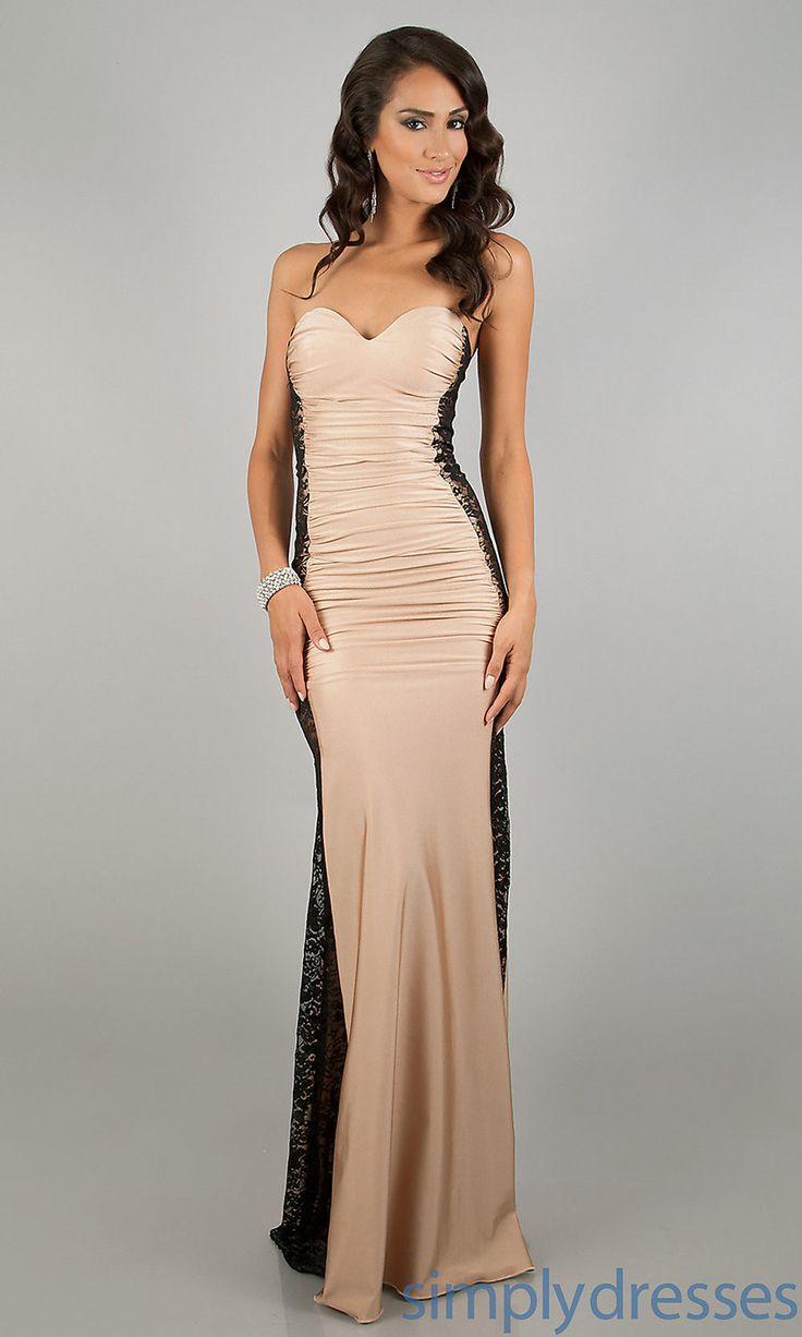 R70210 Strapless ladies long dress Lace patchwork long dress ohyeah lace long women dresses with drape Elegant club wear