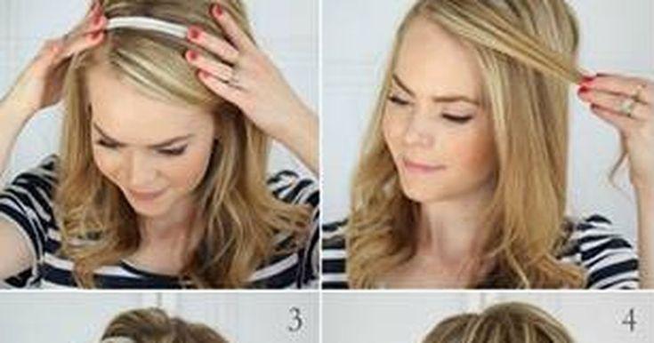 Mit diesem Tutorial zauberst du deine Haare in nur drei Minuten zu einem Hingucker!