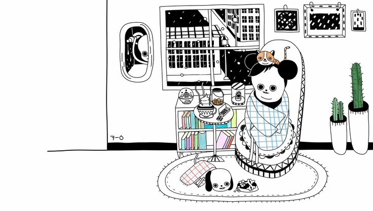illust,illustration,일러스트,킁킁이,sniff,광이,밍키,겨울밤,winter
