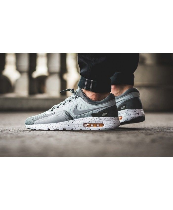 new product b79b6 4db2f Nike Air Max Zero Premium Tumbled Grey/White/Melon Tint/Wolf ...