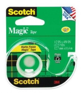 Scotch tape- made in the USA