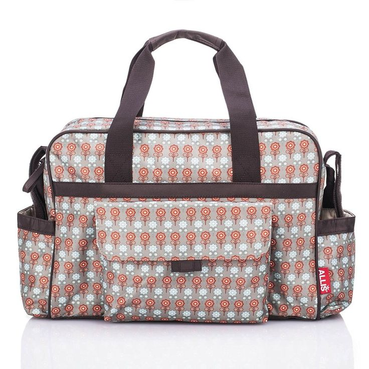 #Baby Changing Bag #Nappy Bag #Diaper Set Insulated Buggy Clip Red Grey #Mummy NEW #maternity