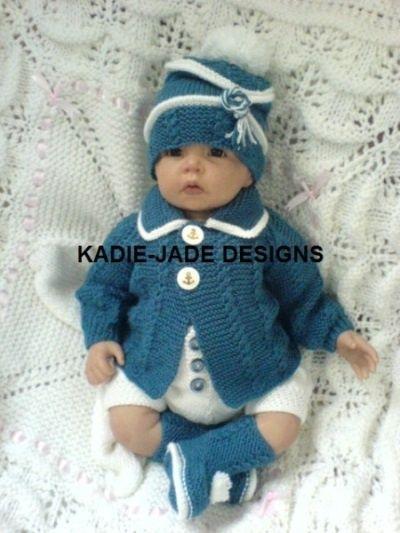 kadie jade knitting designs | No 81 Kadie-jade Knitting Pattern | BABY SETS