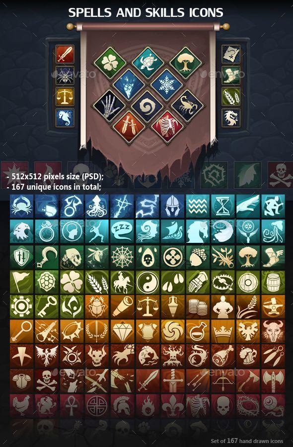 rpg inventory flat icon에 대한 이미지 검색결과 배경, 게임 아이콘 및 보드게임