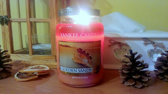 Yankee Candle Golden Sands