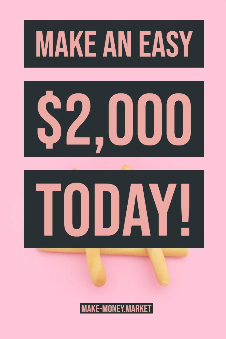 Make an Easy $2,000 TODAY! – mmm | Marketing | Passive Income | Affiliate | Work From Home | Job