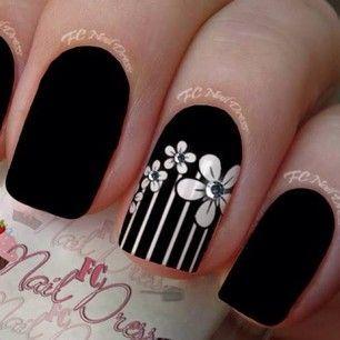 Uñas decoradas con flores -Nails with Flowers