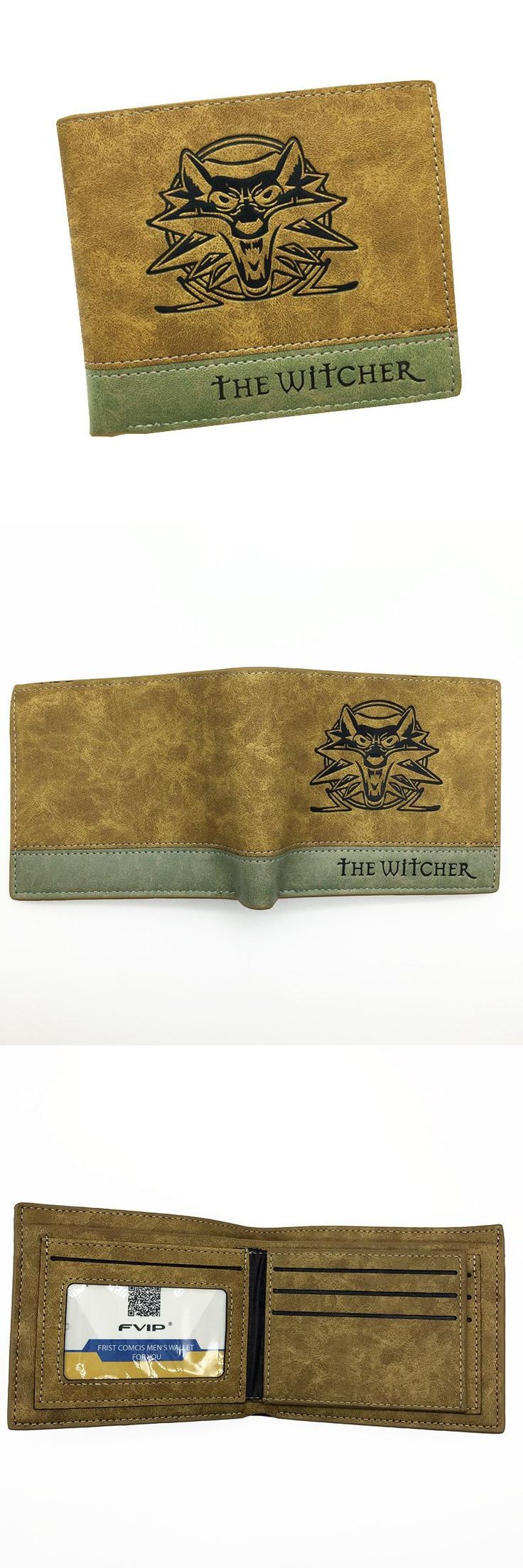 [Visit to Buy] Hot Game Wallet OW / The Witcher / Sword Art Online Soft PU Leather Men Wallets With Cion Pocket for Young #Advertisement