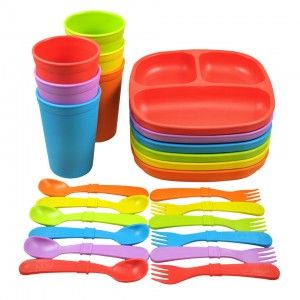 Divided Plates - RE-PLAY - Assorted colours!
