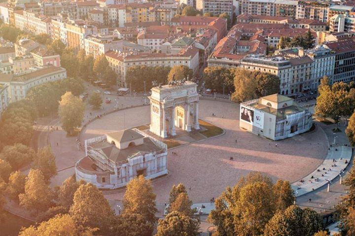 Dall'alto della Torre Branca Foto di Federico Martelli #milanodavedere Milano da Vedere