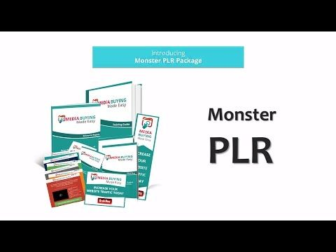 Media Buying Biz in a Box Monster PLR | Green Sales