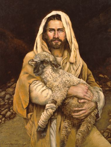 454 best images about good shepherd on pinterest psalm for Christian mural paintings