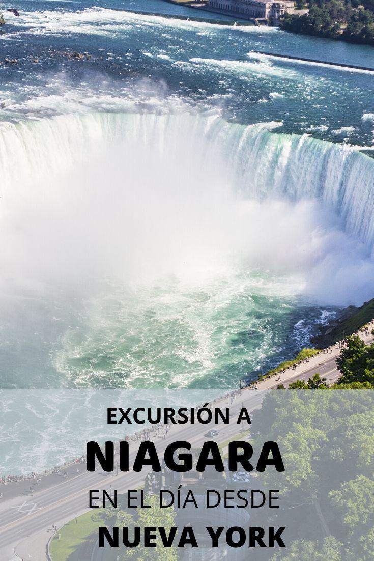 Excursión A Las Cataratas Del Niágara En Autobús Desde Nueva York Viajar En Pareja Nueva York Cataratas Del Niagara