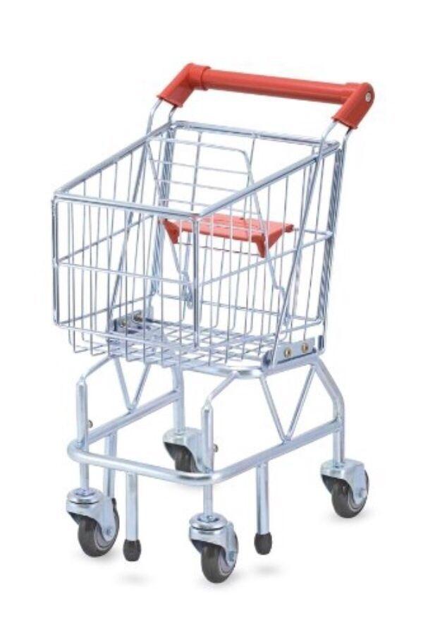 Boys & Girls Grocery Shopping Cart Melissa & Doug 3+ Years Pretend Play Wagoon #MelissaDoug
