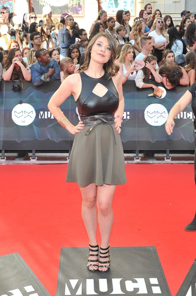 MMVA 2014 Red Carpet: Celebs Arrive For Much Music Video Awards InnerSPACE host Morgan Hoffman arrives at the 2014 MuchMusic Video Awards