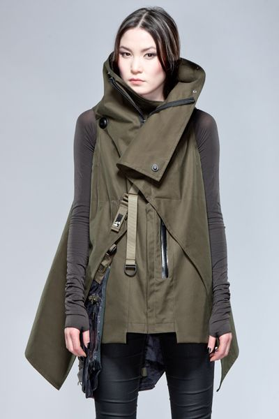 Cyberpunk Fashion, Interops - ACRONYM //I should move to Alaska so I can wear all the outerwear I can stand.