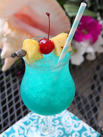 11 Tiki Drinks That Will Immediately Transport You to a Tropical Island (In Your Mind) | BLUE HAWAII  | Drink snob or not, you can't deny that drinking is always, always more enjoyable when the cocktail is bright blue (or any color that doesn't occur in nature).