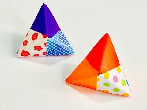 ハート 折り紙:ユニット折り紙 簡単-pinterest.com