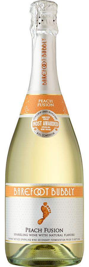 Barefoot Bubbly Peach Fusion (NV)