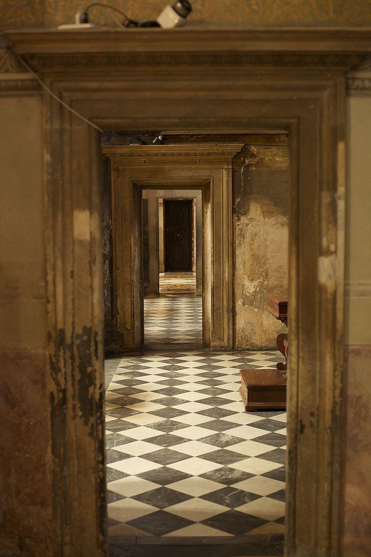 Receding hallway More
