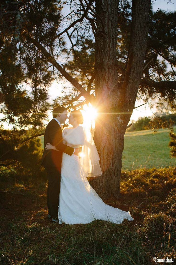 Sarah and Matt's Beautiful Winter Wedding in the Southern Highlands