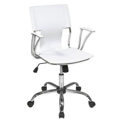 Office Star Dorado Office Chair - White - TARGET - $80