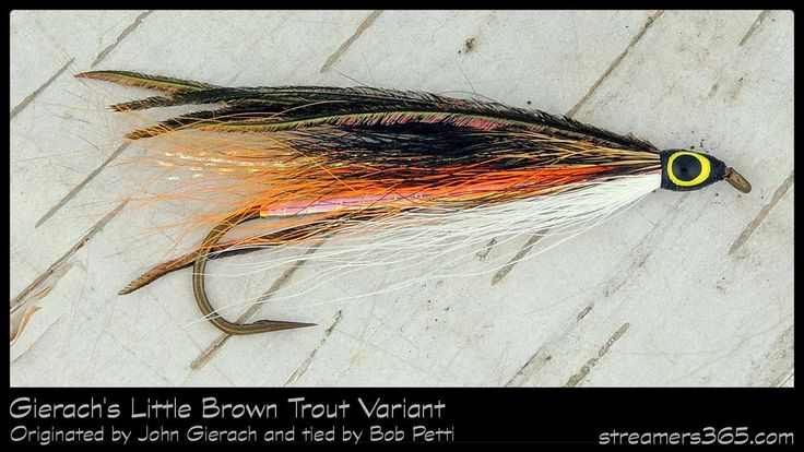 #83-2013 Gierach's Little Brown Trout Variant - Bob Petti