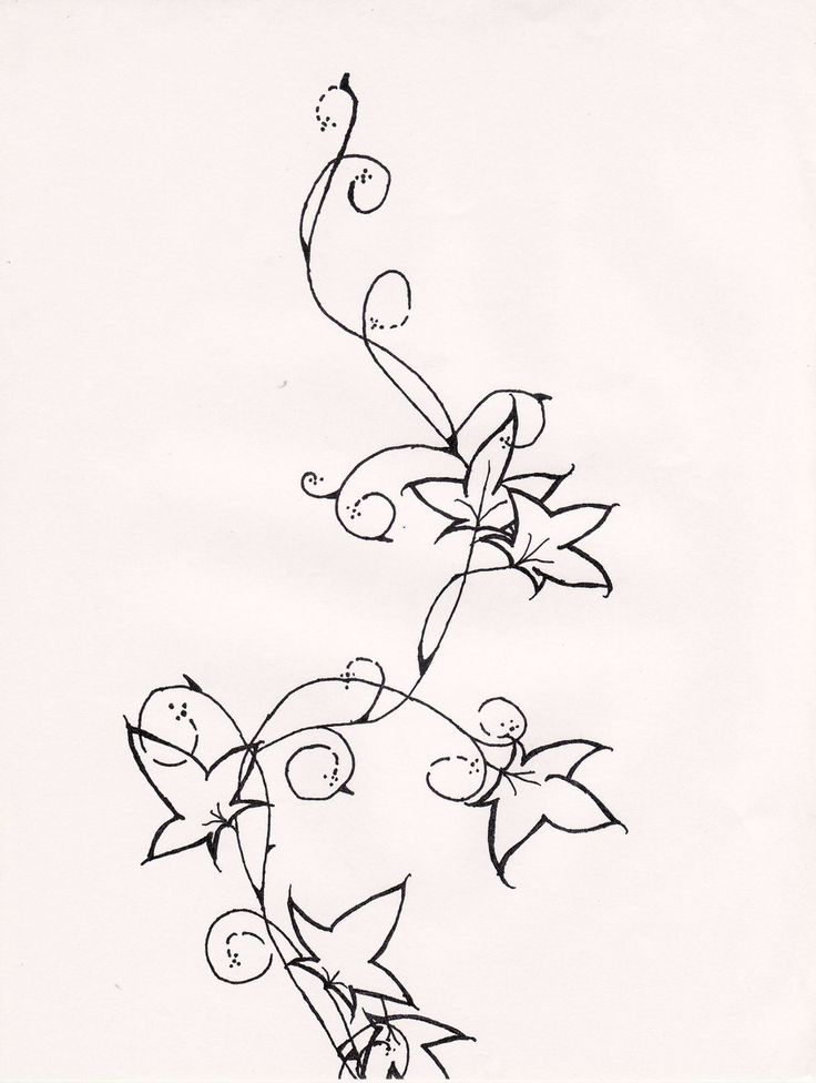 ivy tattoo drawings | ivy tattoo top by iluvdevilschild designs interfaces tattoo design ...