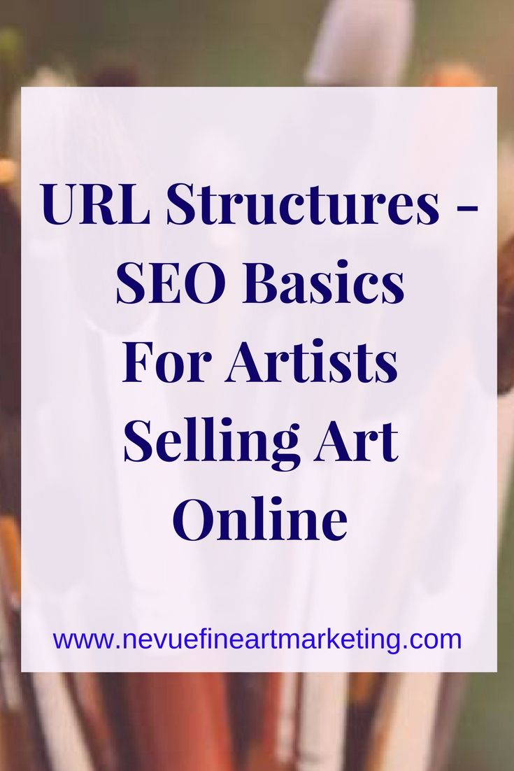 URL Structures - SEO Basics for Artists Selling Art Online