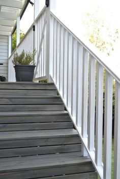 terraced deck grey stain - Google Search