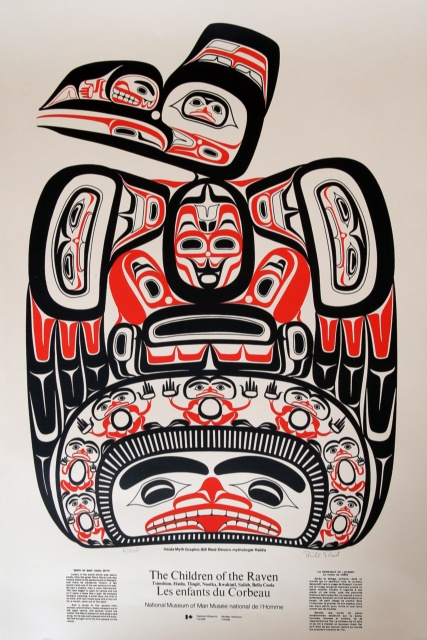 Children of the Raven. Bill Reid. #Haida #Canada