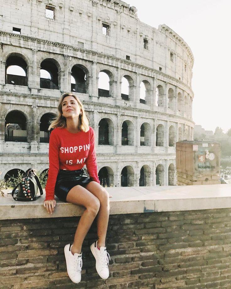 "15.5 mil curtidas, 75 comentários - Luisa Accorsi (@luisa.accorsi) no Instagram: ""cidade eterna ❤ #luliemroma #luliwanderlust"""