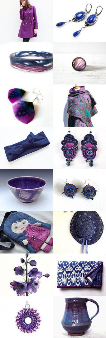 Purple Indigo Violet by Tauriel on Etsy--Pinned with TreasuryPin.com