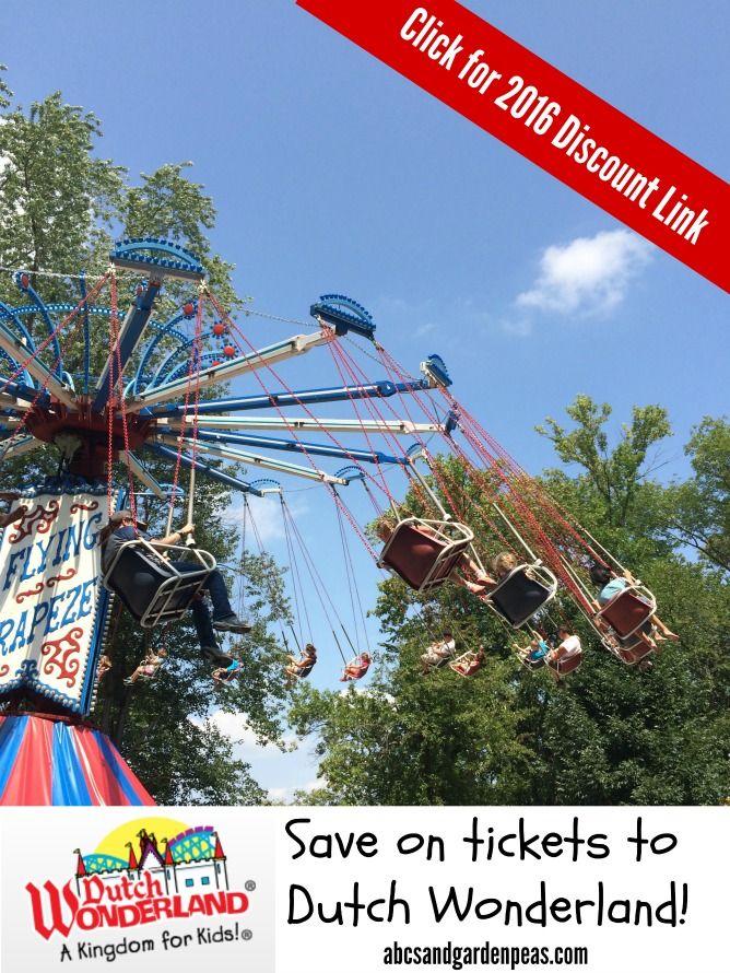 Dutch Wonderland Tickets – Exclusive 2016 Discount!