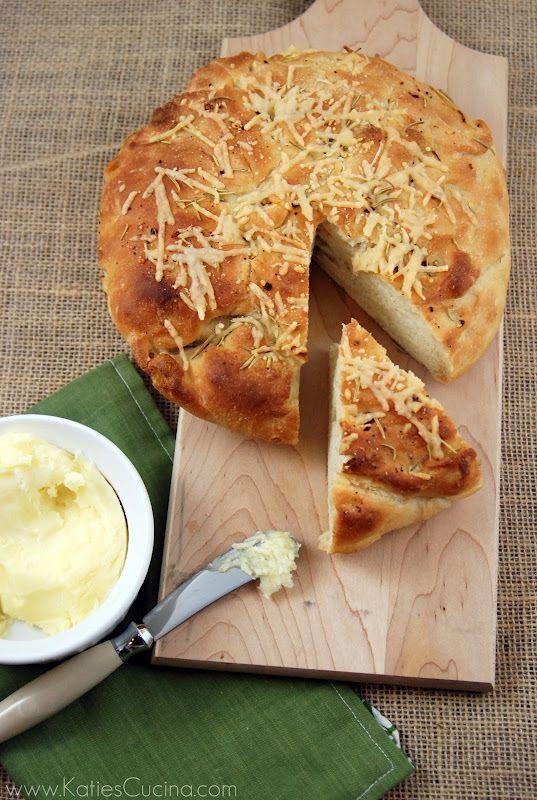 Rosemary Parmesan Pizza Bread