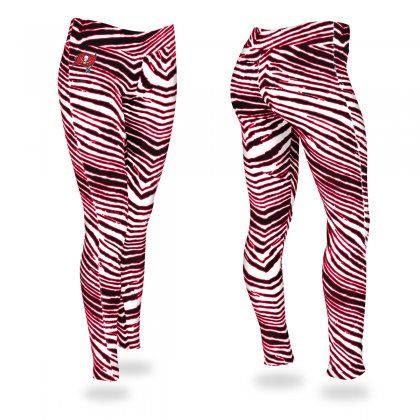 Crazy doesn't even begin to describe these leggings. Keep up that team spirit and outdo every other Buccaneers fan out there with Zubaz!
